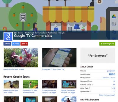 Google Spot Channel