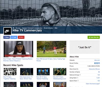 Nike Spot Channel