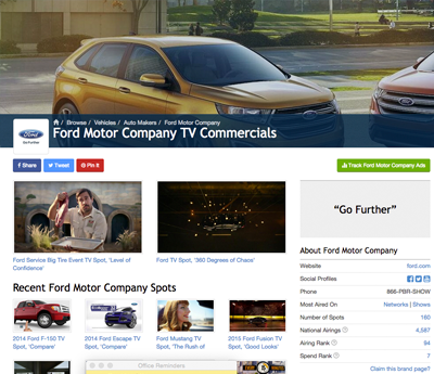 Ford Spot Channel